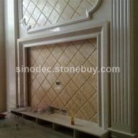 大理石电梯门套线条 天然石材线条门套石线定做 背景墙线条石材