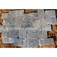 墻石地鋪石粉石英方形