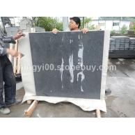 芝麻黑磨光面大板