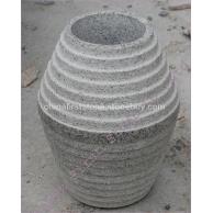 花岗岩石钵雕刻GGV290