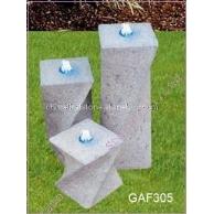 螺旋状流水石GAF305