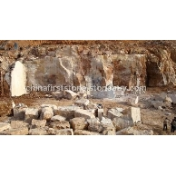 米黄洞石矿山