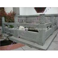 青石花岗岩工程雕花栏杆GCS226