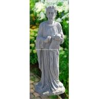 花岗岩人物雕刻墓碑石GMS016