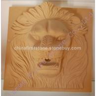 狮子头雕刻喷泉配件MAF287