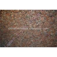 红色火山岩鹅卵石马赛克BASALT PEBBLES