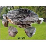 不规则公园石桌椅GCF515