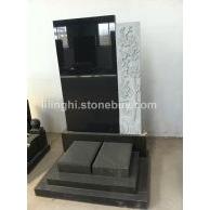 印度黑材质墓碑