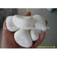白色鹅卵石,机制白鹅卵石,汉白玉鹅卵石