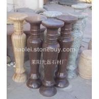 紫木纹砂岩 黄木纹砂岩 莱阳绿大理石花瓶