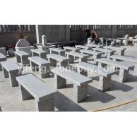 园林石凳-自然面椅子