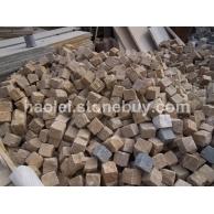 批量供应黄砂岩小块石
