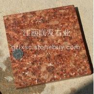 映山红富贵红石材代代红江西红花岗石贵妃红石板材