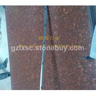 江西红色石材厂家-代代红贵妃红石材映山红仙人红花岗石石材批发