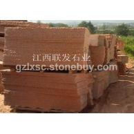 供應江西紅色石材-水頭經銷點批發映山紅花崗石板材