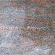 幻彩红  石材进口花岗岩