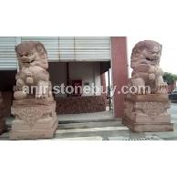 石狮-红砂岩