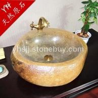 鹅卵石 石头盆洗手盆 艺术盆台上盆 卫生间洗脸盆面盆复古洗手池