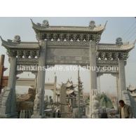 石牌坊、东方、西方、动物、影雕、人物、卡通、石雕、石牌坊、浮雕牌坊、石亭、石栏杆 石雕景观园林 寺庙