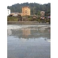 广西南丹瑶族铜鼓文化广场-地面石与路沿石效果图展示 (5)