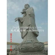 供应大型青石佛像 观音罗汉石雕佛像