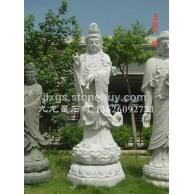 九龙星石业寺庙石雕观音 滴水观音送子观音雕像