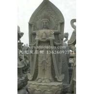 供奉佛像石雕观音 三面观音 千手观音雕塑