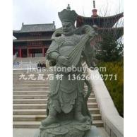 寺庙古建石雕 石雕四大天王