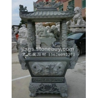 供应青石香炉 芝麻黑香炉 石材雕刻香炉