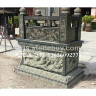 石雕香炉 宗教寺庙石雕器具