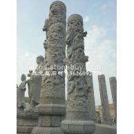 专业石雕龙柱厂家 惠安石雕厂