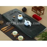精品绿木纹茶盘