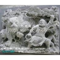 加工定做石材浮雕壁画 人物浮雕 故事浮雕 花鸟浮雕