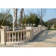 石材栏杆 宝瓶柱栏杆 别墅栏杆 阳台石栏杆
