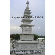 供应石雕经幢 花岗岩石佛塔 寺庙舍利塔 销售批发厂家