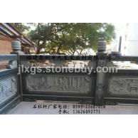 寺庙古建石雕栏杆 青石栏杆 花岗岩石栏杆 可来图订做