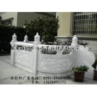 【现货销售】汉白玉石栏杆 石雕栏杆 白石栏杆生产批发厂家