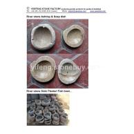 石雕烟灰缸肥皂盒花瓶