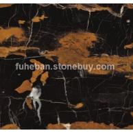 阿富汗黑金花大理石复合板