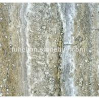 银灰洞石石材复合板