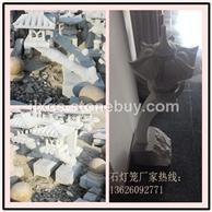 石雕灯笼 白石石灯笼 大理石灯笼 中式庭院石灯 石头灯笼