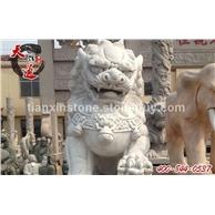 石雕狮子,仿古石狮子,汉白玉石狮,北京石狮,嘉祥石狮子