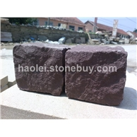 紫砂岩小方石
