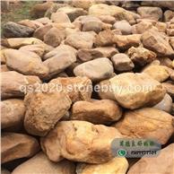 黄蜡石厂家批发吨位黄蜡石、驳岸黄蜡石、台面石、产地批发黄蜡石