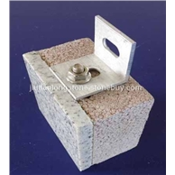 石材保温装饰一体板(背栓系统)