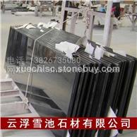 广东黑色高档台面板,光面餐台板 吧台板