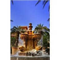 景观水钵喷泉 石材水钵 喷泉水珐雕刻  欧式庭院水钵