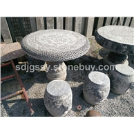 庭院用配套石桌石凳