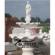 设计生产石雕水钵 欧式喷泉水景 欢迎来电咨询