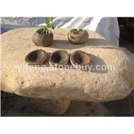 自然卵石肥皂盒 原石肥皂盒 家居用品新石尚